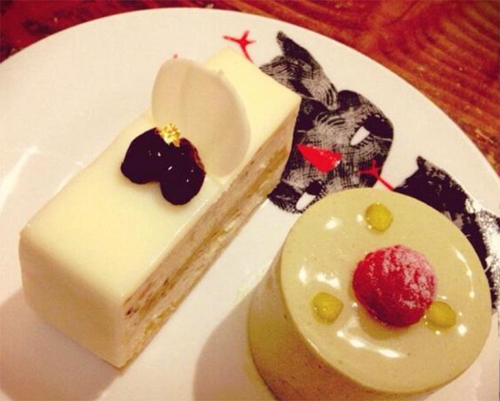 ケーキは15種類以上あり、どれも大体400~540円程度