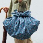 風呂敷が、かわいいバッグにやラッピングに!  作り方&包み方アイデア。